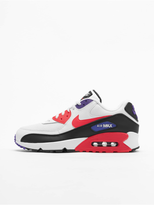 Nike Air Max 90 Essential Sneakers WhiteRed OrbitPsychic PurpleBlack