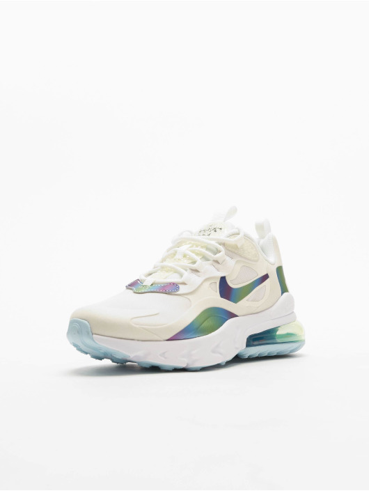 Nike Air Max 270 React 20 (GS) Sneakers Summit WhiteMultiColorPlatinum Tint