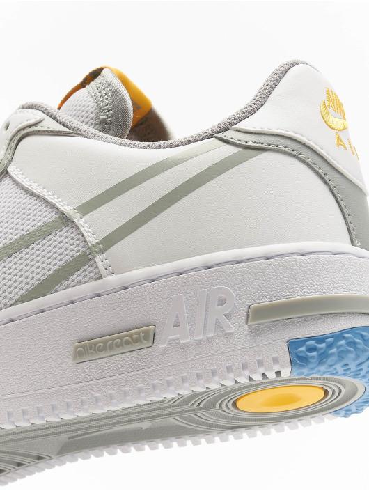 Nike Sneaker Air Force 1 React weiß