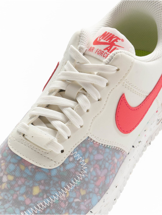 Nike Sneaker Air Force 1 Crater weiß