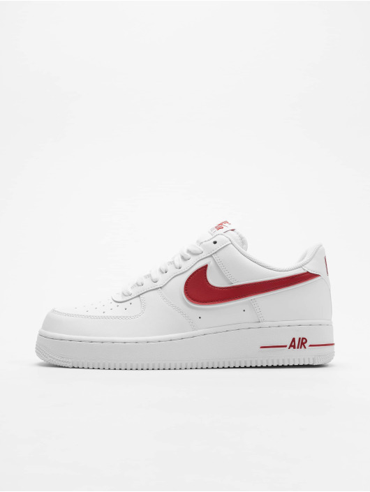 air force 1 laag rood en wit get d1ed9 ed159