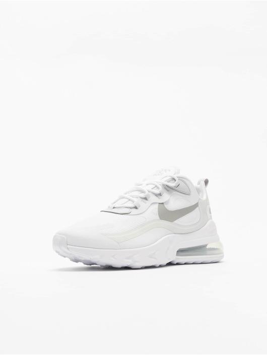Nike Air Max 270 React Sneakers White/Lt Smoke Grey/Pure Platinum
