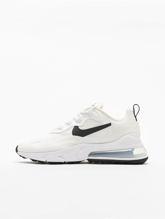 Nike Air Max 270 React Sneakers White/Black/Metallic Silvern