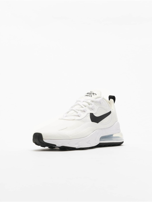 Nike Air Max 270 React Sneakers WhiteBlackMetallic Silvern