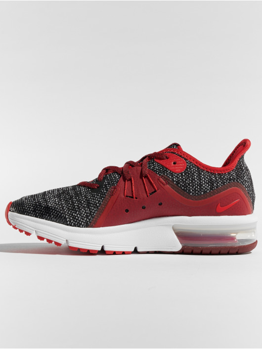 Nike Air Max Sequent 3 Sneakers BlackUniversity RedWhiteTeam Red