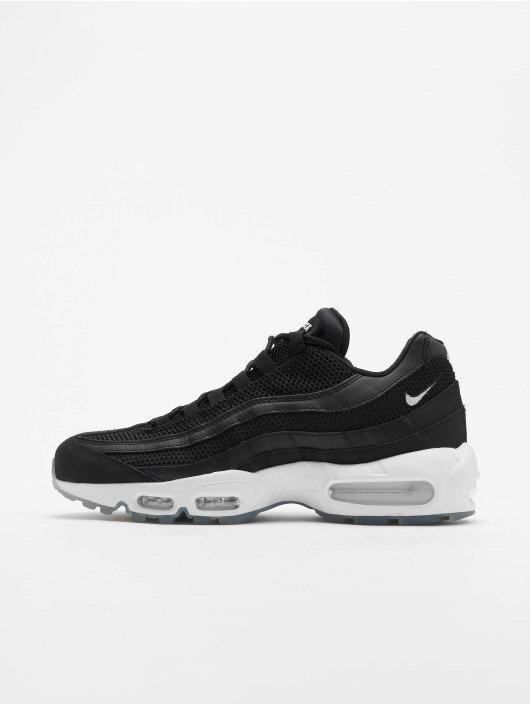 cdb6d3c3d10 Nike Air Max 95 Essential Sneakers Black/White/Black/Reflect Silvern