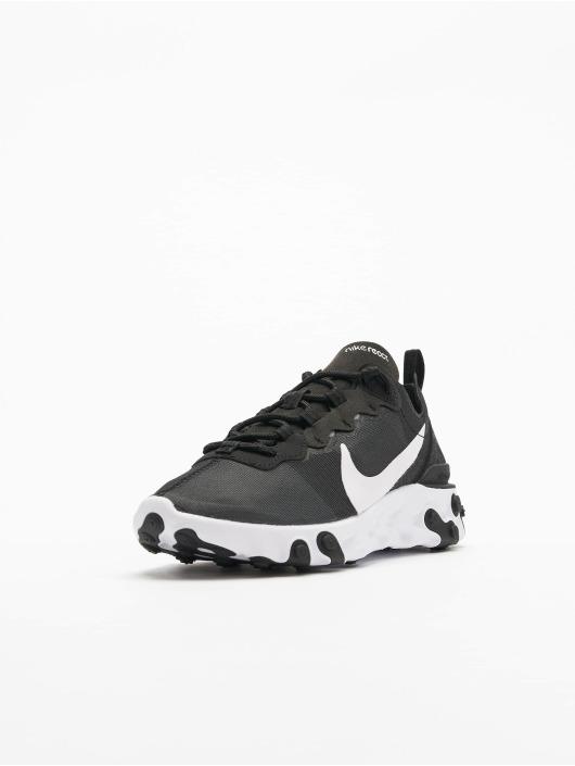Nike sneaker React Element 55 zwart