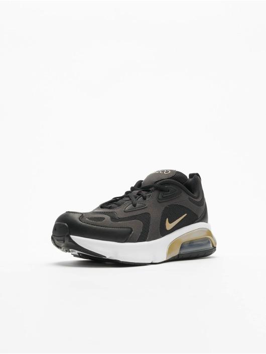 Nike Air Max 200 (GS) Sneakers BlackMetallic GoldenAnthraciteWhite