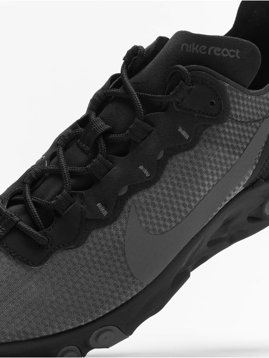 Nike Sneakers React Element 55 SE èierna