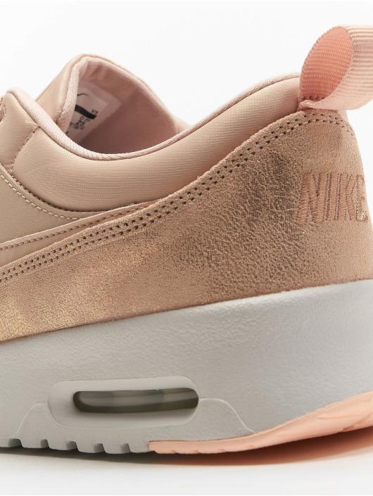 Nike Skor   Sneakers Women s Air Max Thea Premium i beige 613170 51cf02e587624
