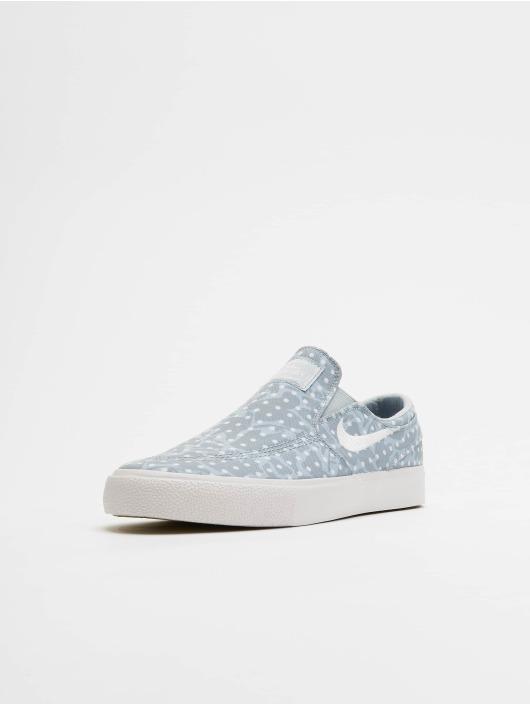 Nike Zoom Janoski Slip Canvas Sneakers Lt Armory BlueWhiteObsidian Mist
