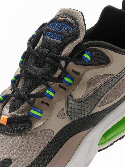 Nike Sneakers Air Max 270 React WTR brazowy