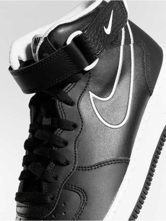 Nike Sneakers Air Force 1 Mid '07 czarny