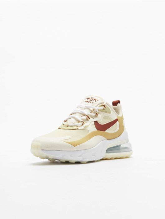Nike Sneakers Air Max 270 React gold colored