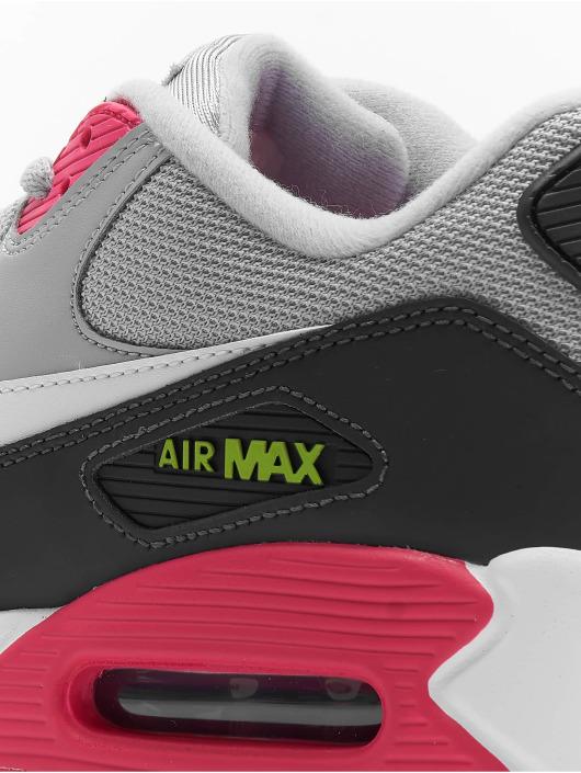 Nike Air Max 90 Essential Sneakers Wolf GreyWhiteRush PinkVolt