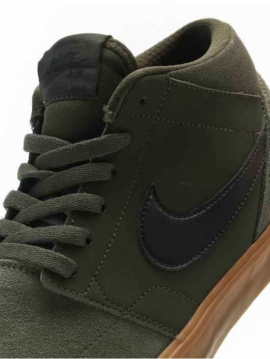 Nike Sneakers SB Solarsoft Portmore ll Mid Skateboarding green