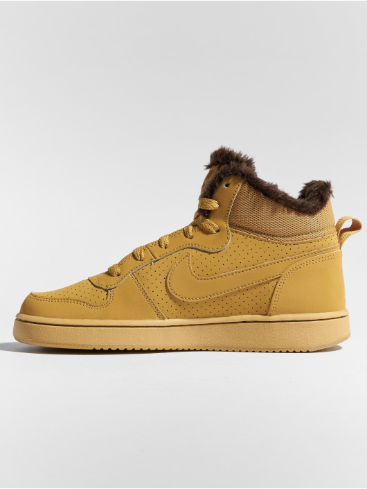 Nike Sneakers Court Borough Mid hnedá