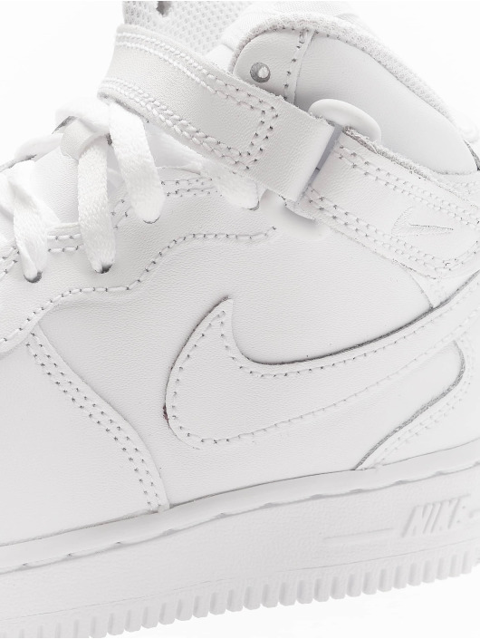 Nike Sneakers Force 1 Mid PS hvid