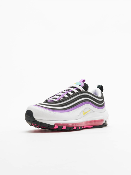 Nike Air Max 97 Sneakers WhiteDynamic YellowBright Violet