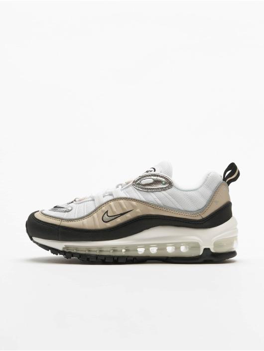 Nike Air Max 98 Sneakers WhiteMetallic SilvernDesert SandBlack White3
