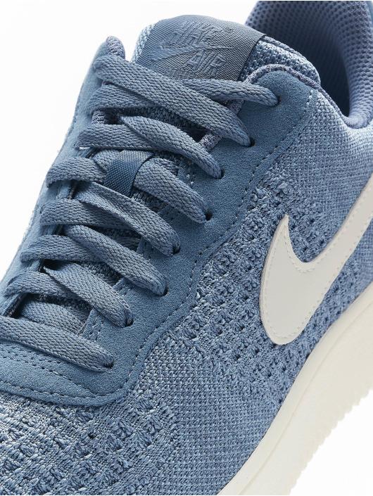 Nike Sneakers Air Force 1 Flyknit 2. modrá