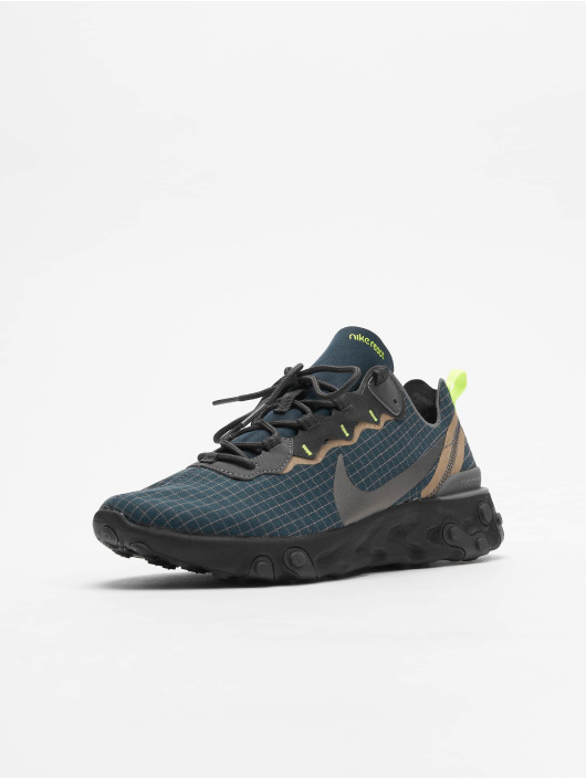 Nike Sneakers React Element 55 niebieski