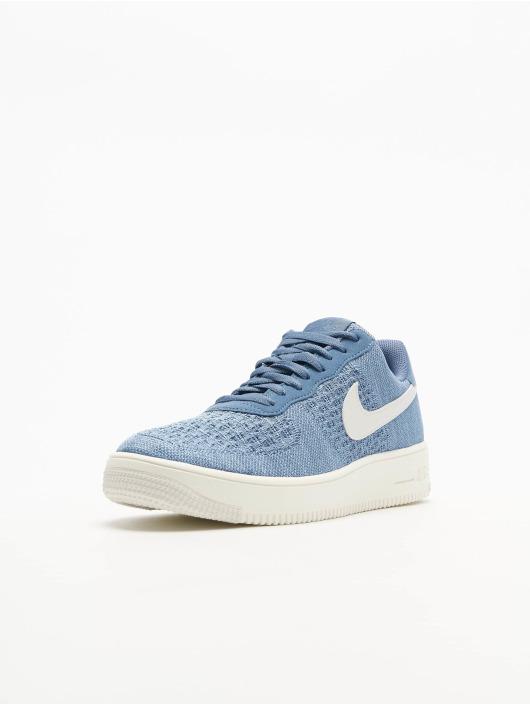 Nike Sneakers Air Force 1 Flyknit 2. niebieski