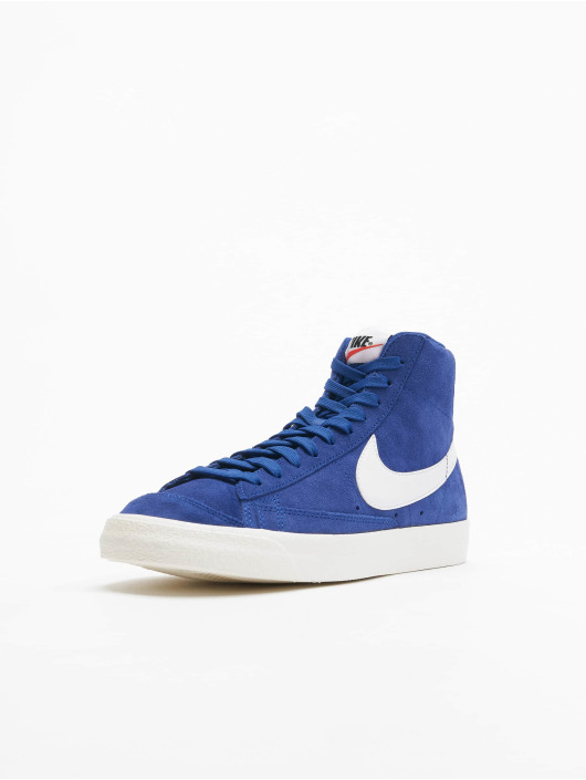 Nike Sneakers Blazer Mid '77 Suede niebieski