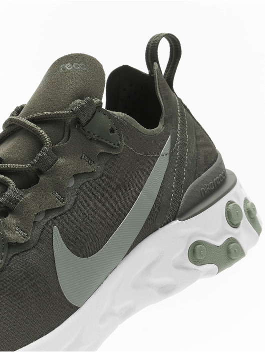 Nike Sneakers React Element 55 olivová