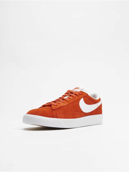 Nike Sneakers Low Suede oranžová