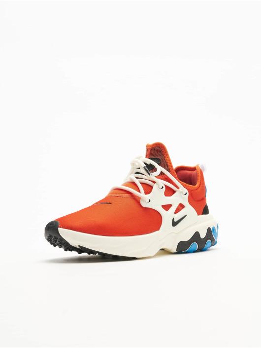 Nike Sneakers React Presto pomaranczowy