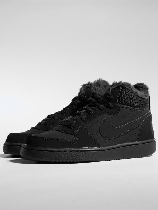 low priced 3df9c cbb1e ... Nike Sneakers Court Borough Mid Winter svart ...