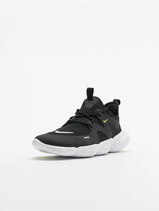 Nike Free Run 5.0 (GS) Sneakers BlackWhiteAnthraciteVolt