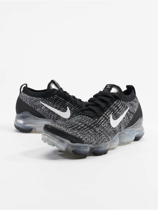 Nike Air Vapormax Flyknit 3 Sneakers BlackWhiteMetallic Silvern