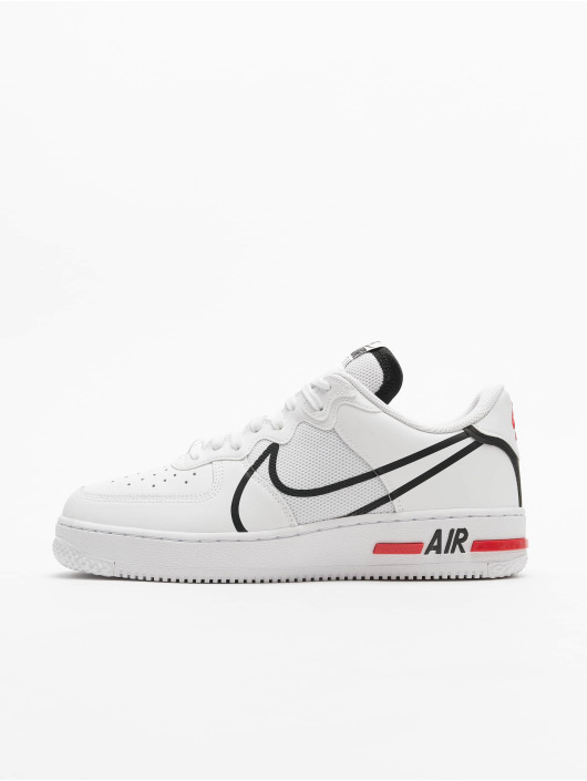 Nike Sneakers Air Force 1 React white