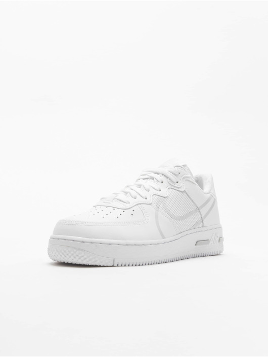 Nike Sneakers Air Force 1 React white