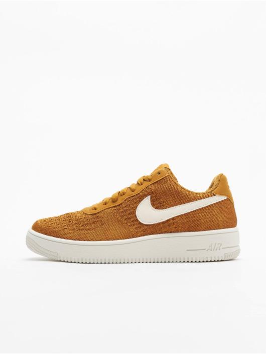 Nike Sneakers Air Force 1 Flyknit 2.0 zlatá