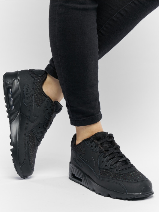 Nike Sneakers Air Max 90 SE Mesh (GS) èierna