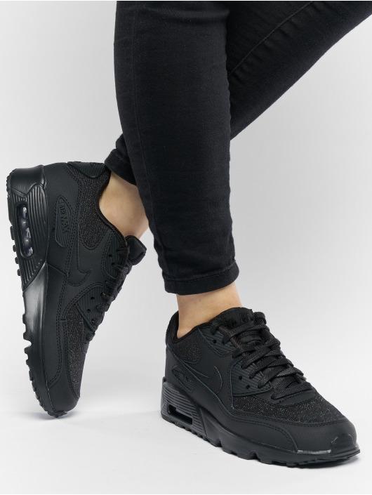 Nike Snejkry Air Max 90 SE Mesh (GS) čern