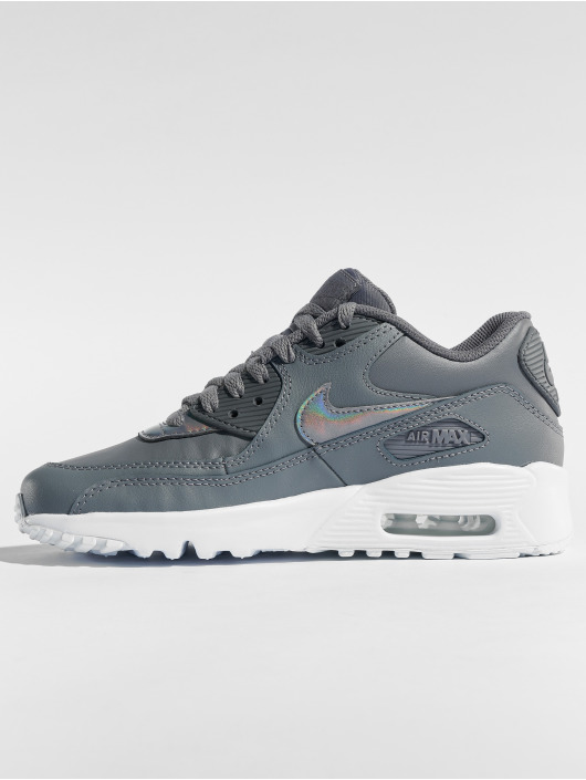 Nike Snejkry Air Max 90 Leather (GS) šedá