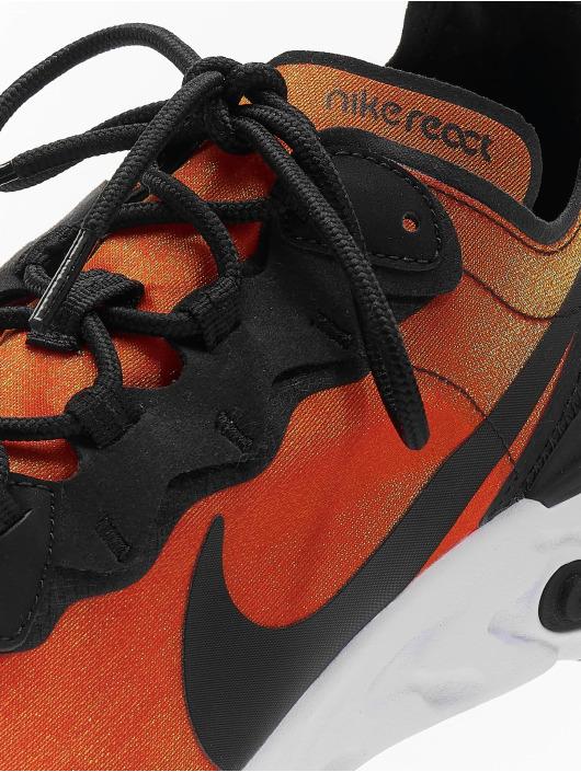 Nike Snejkry React Element 55 Premium SU19 oranžový