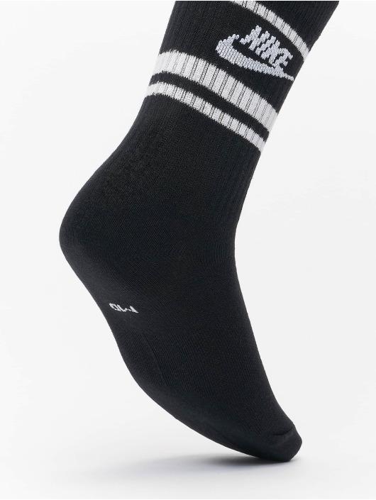 Nike Socken Essential Stripe 3 Pack schwarz