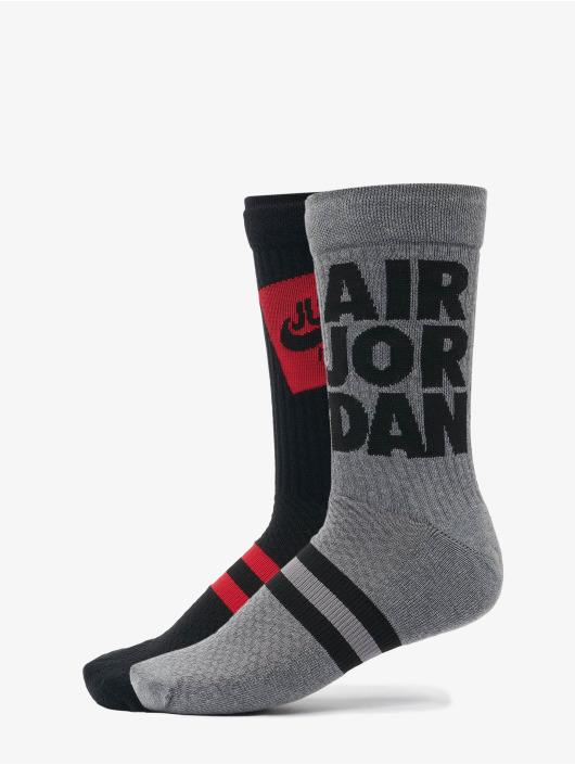 Nike Socken U J Legacy Crew 2pr - Sp21 Jmc schwarz