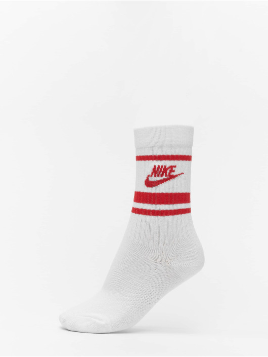 Nike Socken Crew Essential Stripe weiß