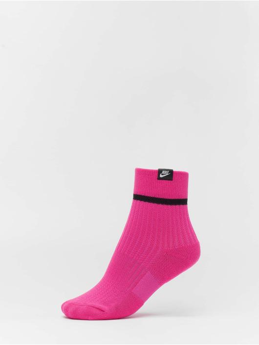 Nike Socks SNKR Sox Ankle 2 Pair HI VIZ colored