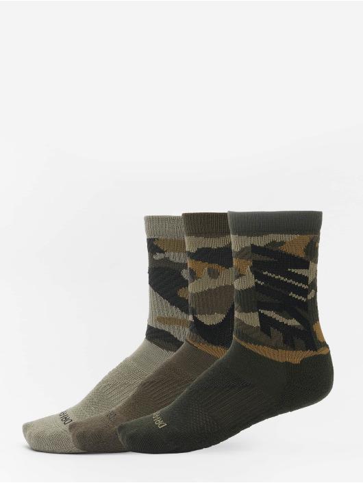 Nike Sokker Everyday Max Cush Crew 3 Pair brun