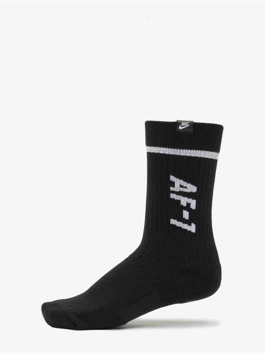 Nike Sokker AF1 Crew 2 Pair svart