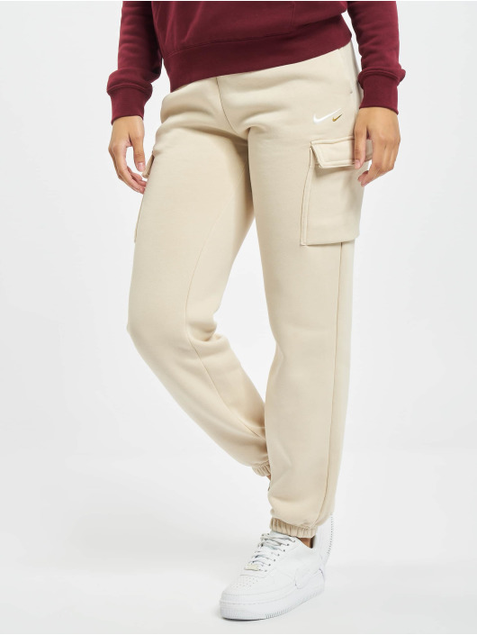 Nike Spodnie do joggingu NSW Cargo Loose Fleece bezowy
