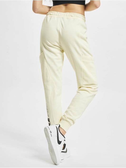 Nike Spodnie do joggingu W Nsw Air Flc Mr bezowy