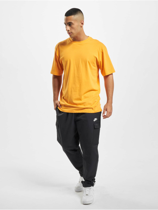 Nike Spodnie do joggingu Woven Players czarny